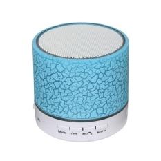 Promo Toko Portable Mini Flash Led Bluetooth Speaker A9 Nirkabel Musik Audio Fm Stereo Speaker Mp3 Kartu Bermain Speaker Biru Intl