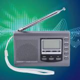 Portabel Mini Radio Fm Mw Sw Penerima With Digital Alarm Clock Fm Radio Receiver Abu Abu Tiongkok Diskon 50