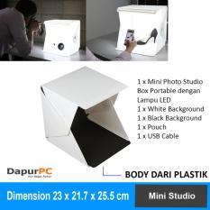 Beli Portable Mini Studio Photo Box With Led Light Yang Bagus