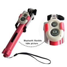 Portable Monopod Bluetooth Remote + Selfie Stick Tripod + Monopod + 3 In 1 Handheld Dapat Diperpanjang untuk Selfie Stick SUMSUNG IPhone 6 S-Intl