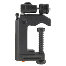 Portable Multi-fungsi Folding Clamp Tripod untuk Mini Kartu Kamera Digital (Hitam)-Intl