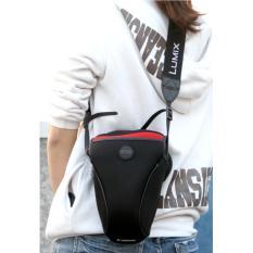 Jual Portable Tas Kamera Neoprene Case Untuk Canon Eos 100D 1300D 1200D 18 55Mm Lensa Intl Online Tiongkok