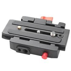 Toko Portable P200 Model Quick Release Plate Base Aluminium Alloy Camera Tripod Stabilizer Slider Base Untuk Manfrotto 501 500Ah 701Hdv 503Hdv Q5 577 Standard Camera Gimbal Intl Terlengkap Di Tiongkok