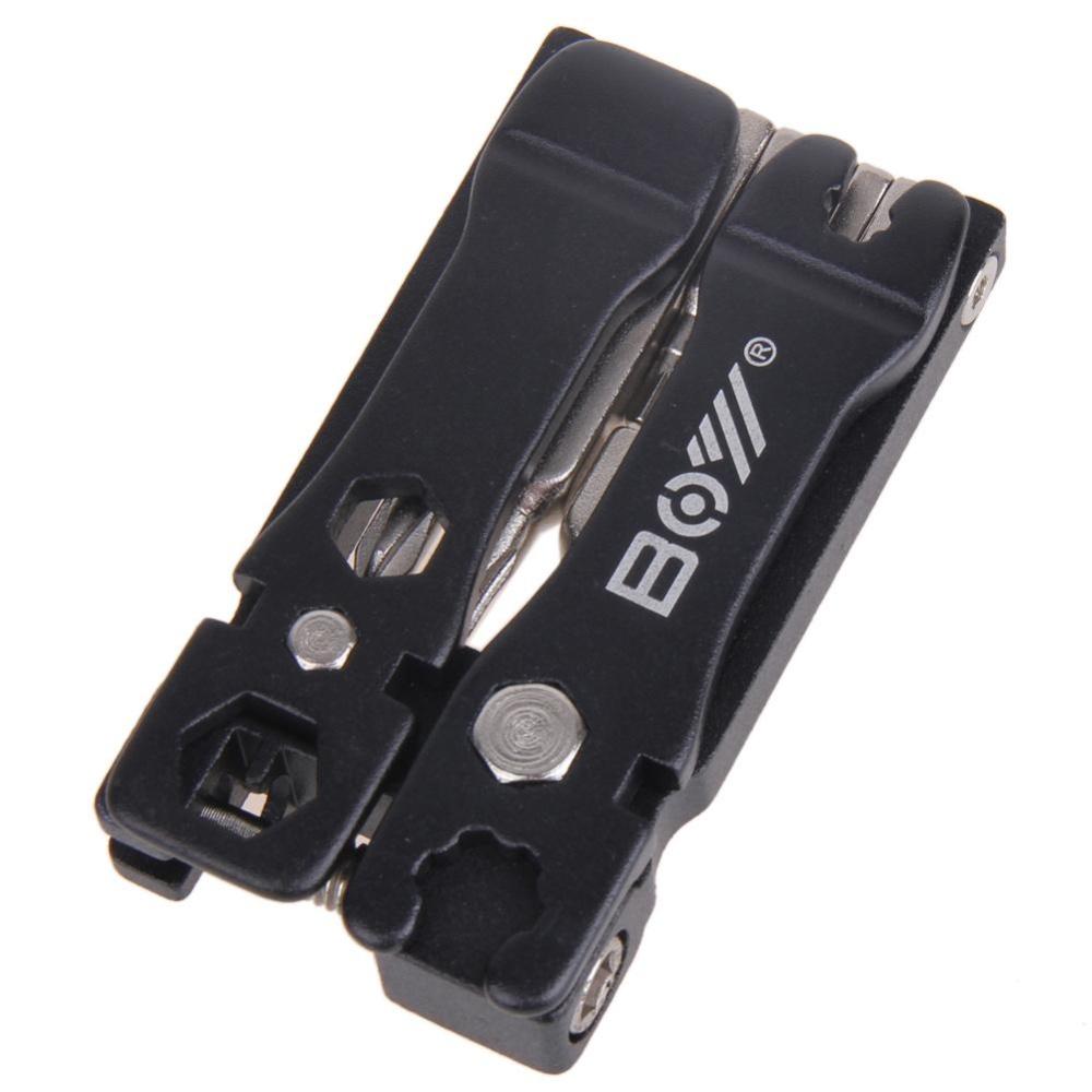 Ulasan Mengenai Portable Sepeda Bersepeda Sepeda Multi Alat Perbaikan Set Kit Hitam Intl