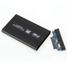 Diskon Portable Superspeed Usb 3 Hdd Ssd Sata Eksternal Aluminium 2 5 Hard Drive Disk Case Penutup Kotak Hingga 1 Tb Intl