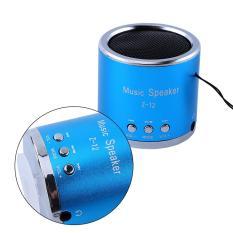Toko Portable Usb Pengisian Speaker Amplifier Fm Radio Tf Kartu Mp3 Player Blue Intl Termurah