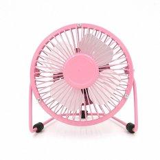 Portable USB Mini Fan (Pink) (Warna: Pink)-Intl