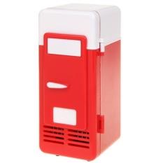 Portable Mini Kulkas Berbasis USB Cooler dan Warmer Bisa Kulkas untuk Minuman, Minuman, Bir-Intl