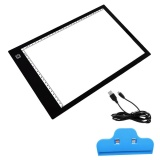 Jual Portable Usb Powered Ultra Tipis A4 Led Dilindungi Mata Touch Dimmable Sketsa Animasi Tracing Light Box Tablet Pad Board Dengan Klip Intl Satu Set