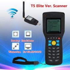 Beli Portable Wire Wireless Otomatis Barcode Reader 1D Kode Edata Inventaris Collector Terminal Barcode Scanner T5 Elite Intl Oem Asli