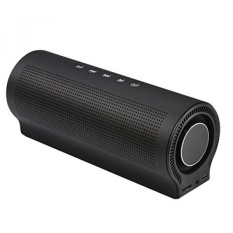 Portable Wireless Bluetooth Speaker Louder Volume Superior Sound with 20W Driver Enhanced Bass - LVVER PN-13 Bluetooth 4.0 Built-in Mic for iPhone, iPad, Samsung, Laptops and More (Black)