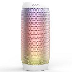 Portable Wireless JB2 Pulse Bluetooth Speaker 360 LED Lampu Speaker Penopang U-disk TF PK BQ-615 Speaker untuk Iphone Samsung Putih -Intl