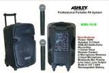 Harga Portable Wireless Meeting Ashley Pa 12E 12 Inch Bisa Bluetooth Ashley