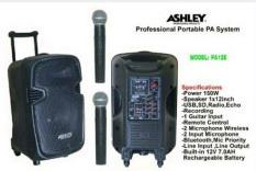 Toko Portable Wireless Meeting Ashley Pa 12E 12 Inch Bisa Bluetooth Online Terpercaya