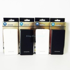 Power Bank Origami 20.000mAh Batterai Polymer Model Slim Micro Usb For Samsung/Oppo/Htc/Xiaomi/Iphone - Putih/Hitam