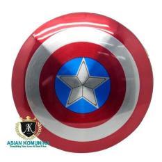 Power Bank Perisai Captain America 2 Port 6800Mah-Merah