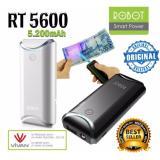 Spesifikasi Power Bank Robot By Vivan Rt5600 5200Mah White Black Robot