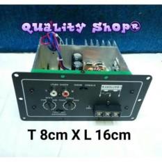 Harga Power Kit Subwofer Mobil Sudah Teruji Kualitas Nya Plus Pengaturan Crosover Bisa Untuk 8 10 12 Inch Sub Asli