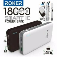 Powerbank Roker R180 18000 Mah Power Bank Hippo Vivan Xiaomi Robot