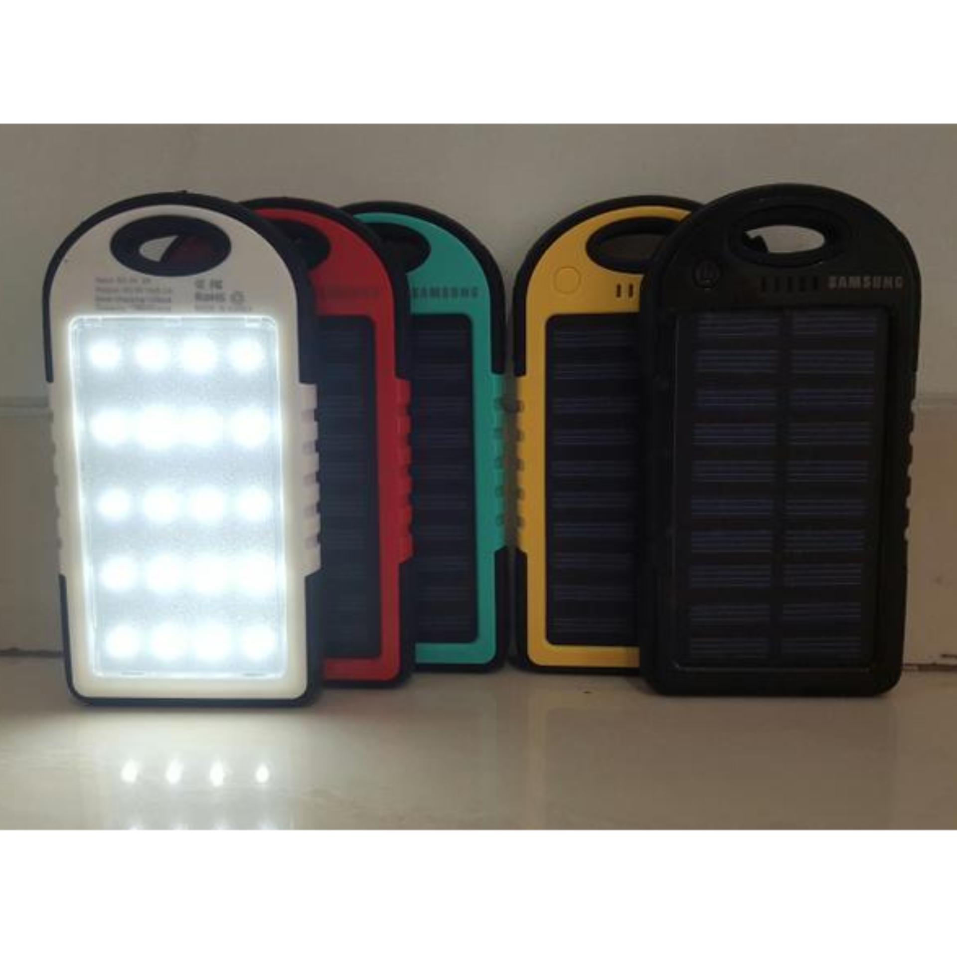 Powerbank Xiaomi 99000 Terbaru 99000mah Slim Stainless Solar 20 Led