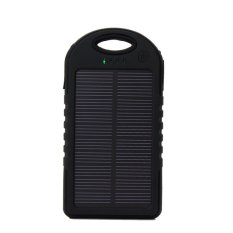Powerbank Solar Cell - Hitam