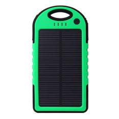 Harga Powerbank Solar Charger Hijau Terbaru