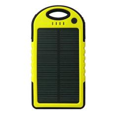 Powerbank Solar Charger kuning china