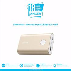 PowerCore+ 10050 mAh Quick Charge 3.0 - Gold
