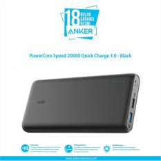 Jual Powercore Speed 20000 Quick Charge 3 Hitam Ori