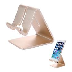 Powercreat Bisa Disesuaikan Penyangga Meja, Aluminium Multi-sudut Dapat Dilipat Universal Stand Holder untuk IPhone/iPad/tablet/Ponsel/Kindle/Macbook /laptop-Intl