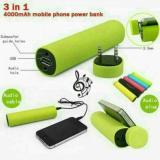 Harga Powerjam Power Bank Portable Speaker Stand Handphone Branded