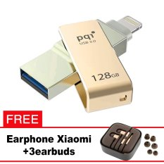 Pqi iConnect Mini OTG Flashdisk Lightning Apple & USB 3.0 - 128GB Emas + FREE Xiaomi Earphone  - pqi iconnect mini otg flashdisk lightning apple amp usb 30 128gb emas free xiaomi earphone 8226 0675209 e3dd34b1c1f2717f95655f927e7a6983 catalog 233 - Update Harga Terbaru Hp Xiaomi Redmi 4a Support Otg Agustus 2018