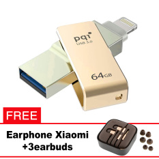 Pqi iConnect Mini OTG Flashdisk Lightning Apple & USB 3.0 - 64GB Emas + FREE Xiaomi Earphone  - pqi iconnect mini otg flashdisk lightning apple amp usb 30 64gb emas free xiaomi earphone 8224 7575209 362bfb7d41a7281707ccbb0c4d31d045 catalog 233 - Update Harga Terbaru Hp Xiaomi Redmi 4a Support Otg Agustus 2018
