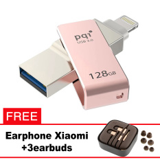 Pqi iConnect Mini OTG Flashdisk Lightning Apple & USB 3.0 - 128GB Rose Gold + FREE Xiaomi Earphone  - pqi iconnect mini otg flashdisk lightning apple andamp usb 3 0 128gb rose gold free xiaomi earphone 8226 1675209 28ceeee45807cfc6a1460ae9c40fe3d7 catalog 233 - Update Harga Terbaru Hp Xiaomi Redmi 4a Support Otg Agustus 2018