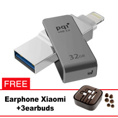 Pqi iConnect Mini OTG Flashdisk Lightning Apple & USB 3.0 - 32GB Abu-abu + FREE Xiaomi Earphone  - pqi iconnect mini otg flashdisk lightning apple andamp usb 3 0 32gb abu abu free xiaomi earphone 8227 8575209 15e2498ea1c03c92f4133cae0fae21af catalog 233 - Update Harga Terbaru Hp Xiaomi Redmi 4a Support Otg Agustus 2018