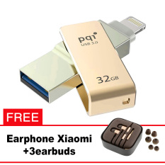 Pqi iConnect Mini OTG Flashdisk Lightning Apple & USB 3.0 - 32GB Emas + FREE Xiaomi Earphone  - pqi iconnect mini otg flashdisk lightning apple andamp usb 3 0 32gb emas free xiaomi earphone 8225 3575209 f25fb2fa47fb869ccad9f374c8a61ced catalog 233 - Update Harga Terbaru Hp Xiaomi Redmi 4a Support Otg Agustus 2018