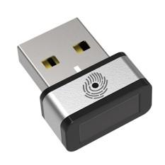 PQI Saya Lockey Sidik Jari USB Dongle Tercepat Di Dunia Goldkey Identifikasi Dalam Waktu 0.15 Detik Gadget USB untuk Windows Hello- INTL