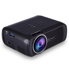 Praktis 160 W LED LCD 3D HD 1080 P Movie Projector Cinema untuk Rumah 7000 Lumens-Intl