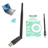 Spesifikasi Practical Computer Pc Laptop Lan Antenna Adapter Usb Wifi Wireless Network Card Intl Terbaik