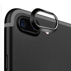 Mewah Praktis Aluminium Alloy Belakang Kamera Lensa Pelindung Cincin Guard Lingkaran Menutupi Lensa Protector Bumper Case Untuk Saya Ponsel 7 Plus Hitam