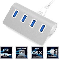 Premium 4 Port Aluminium USB 3.0 Hub (30