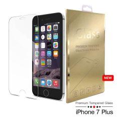 Premium 9 H Tempered Glass Screen Protector untuk Apple untuk IPhone 7 Plus ((Clear)) (LUAR NEGERI)