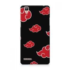 Premium Case Anime Red Black Cloud Oppo F1 Hard Case Cover