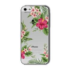 Perbandingan Harga Premium Case Floral Leaves Seamless Beautiful Flower Iphone 5 5S Transparent Clear Case Di Jawa Barat
