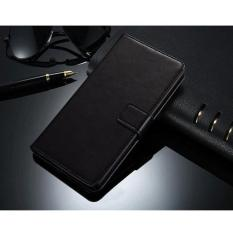 Premium Case Kulit Alcatel Flash Plus 2 Leather Case insert Card Flip Cover