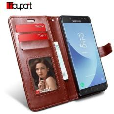 Premium Case Kulit Samsung Galaxy J5 Pro Leather Case insert Card Flip Cover
