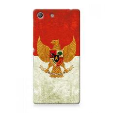 Premium Case Retro Garuda Indonesia Flag Sony Xperia M5 Hard Case Cover