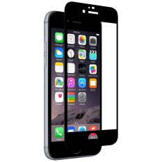 Diskon Premium Hd 26Mm Round Angle Anti Sidik Jari Screen Pelindung Kaca Full Cover Tempered Glass Untuk Iphone 7 Plus 5 5 Hitam Intl Oem Tiongkok
