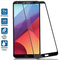 Premium HD Tempered Glass 9H For LG Q6 List Warna 2.5D 0.3mm Screen Protector - Hitam