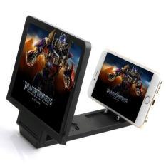 Premium Kaca Pembesar Layar Handphone - Hitam